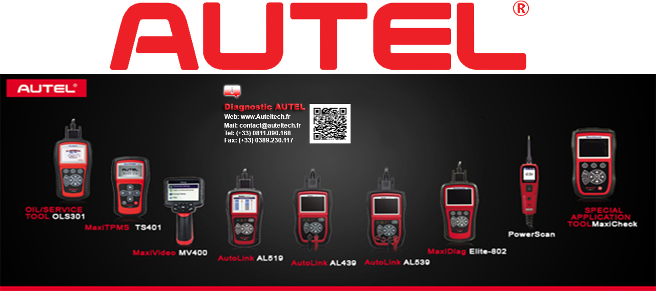Distributeur Autel France officiel